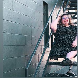 Loft plus size dress